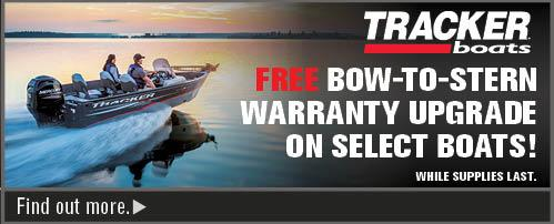Bow-to-Stern Factory Warranty Upgrade on Select Mod V and Deep V Boats