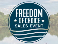 Freedom of Choice Sales Event